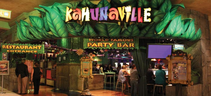 Kahunaville: Restaurante & Bar