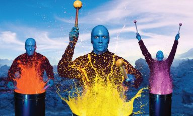 Blue Man / electrizante